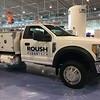 Applications for the propane autogas-fueled F-450 / F-550 trucks with the new tank design include box trucks, flat beds, service trucks, mini-bobtails, crane trucks and cylinder delivery trucks. These ROUSH CleanTech propane autogas vehicles maintain the same horsepower, torque and towing capacity as their Ford gasoline-fueled counterparts.