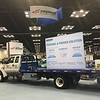 ROUSH CleanTech displayed a propane-powered Ford F-650 upfitted for towing. This is the seventh year the company has exhibited at this event. In that time, it has deployed almost 15,000 vehicles that have put 400 million miles on North American roads and displaced 500 million gallons of diesel.