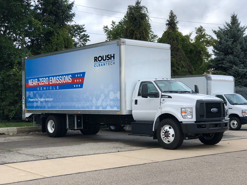 "ROUSH CleanTech revealed that its 0.02 grams per brake horsepower-hour engine can operate on renewable propane. It's the first available engine for renewable propane that brings emission levels to ""near-zero"" as defined by California Air Resources Board."