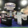 ROUSH CleanTech displayed a Ford F-750 chassis at the 2019 NPGA show.