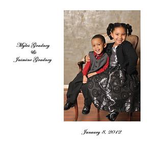 Myles and Jasmine Portrait Album