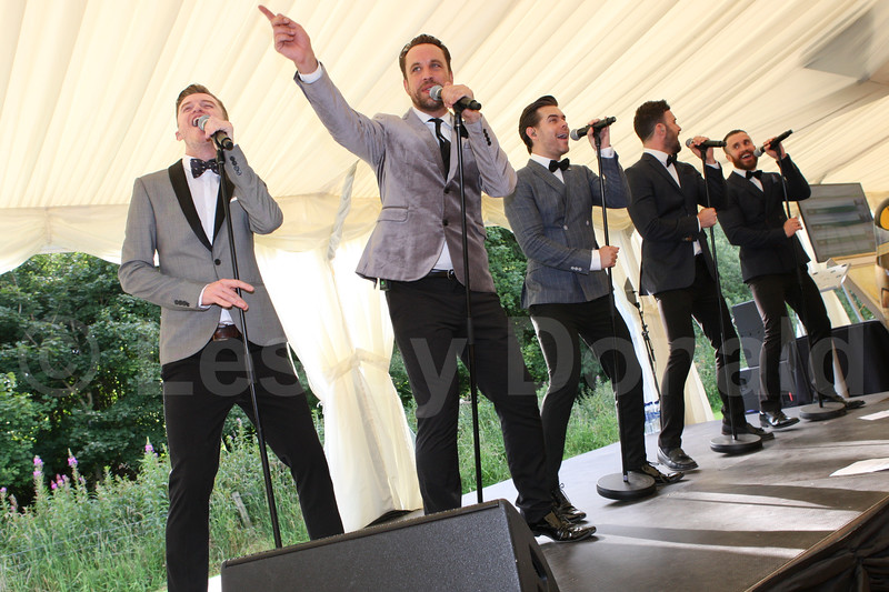 """The Overtones perform live at """"The Shoot"""" Charitable Trust"""