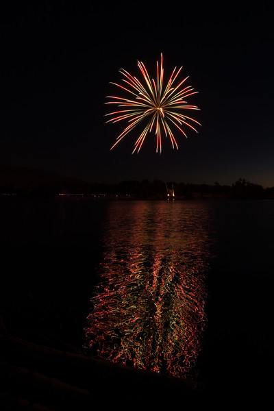 Almaden Lake Park, San Jose, July 4, 2017