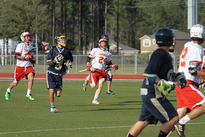 Sandalwood Lacrosse Game Mar 19, 2013