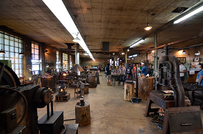 2016 Doors Open Milwaukee  Milwaukee Blacksmith