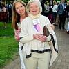 42 Director of Philanthropy Catherine Kerkam and Betty Boyle