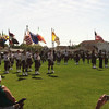"All seven Pipe & Drum Bands playing ""Amazing Grace"""