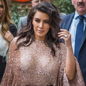 Kim Kardashian at Vogue 100 Festival.