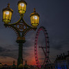 Dusk Falls On The London Eye