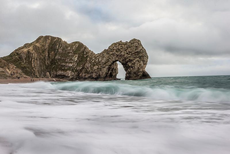 Durdle Door In Dorset