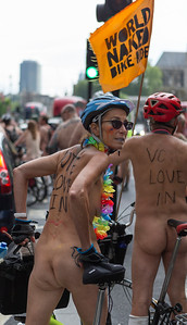 World Naked Bike Ride.