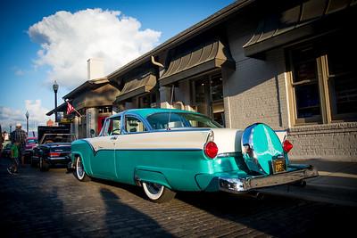Downtown Wheaton Association Vintage Rides 8-17