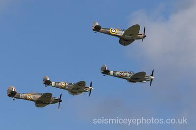 Spitfire Formation Goodwood