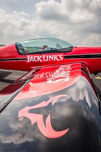 Jack Link's Stunt Plane