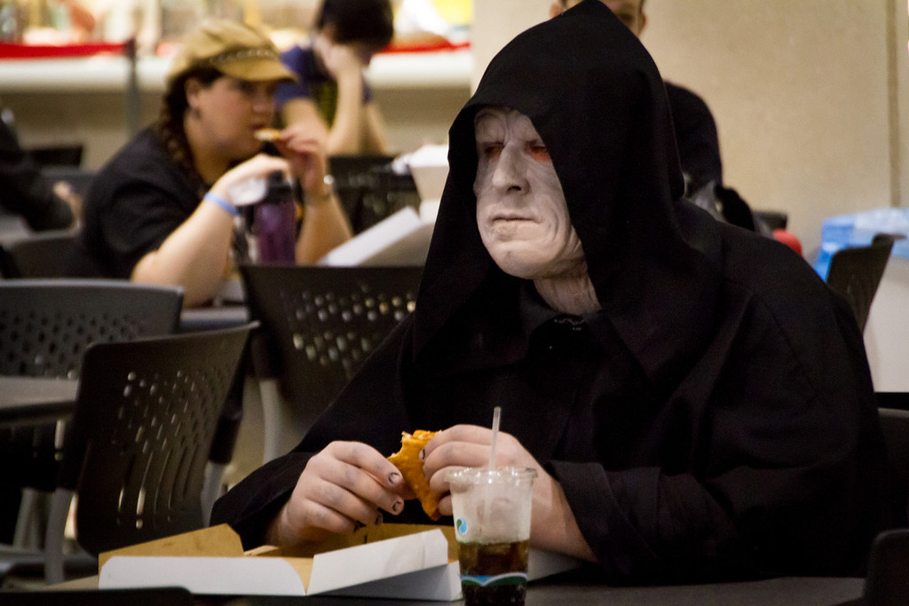 The Emperor's Lonely Lunch