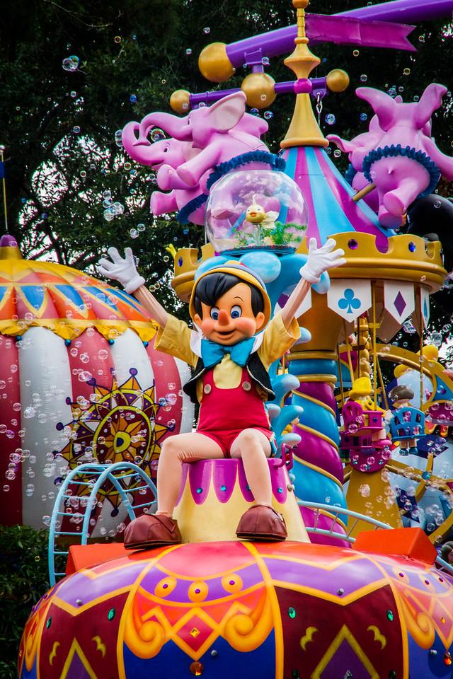 Pinocchio on Parade
