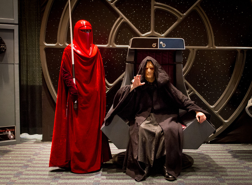 Emperor Palpatine Uses the Force