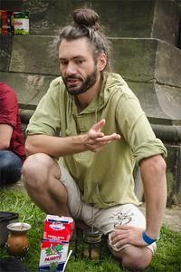 Mate tea. Čajomír festival 2015 - Praha Vyšehrad