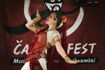 Indický tanec - Čajomírfest 2014