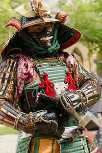 Samuraj na Čajomirfestu 2014