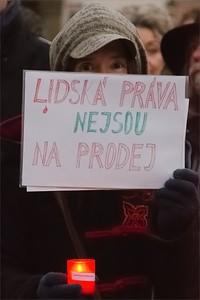 Uctění památky obětí komunismu - 25.2.2016