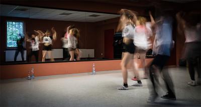 Dance lecture in Studio Itaka