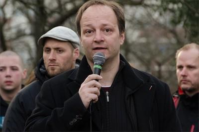 Senátor Václav Láska - Solidární shromáždění: Nenecháme se zastrašit! Solidarita s Klinikou!