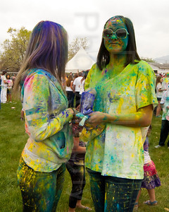 Holi Festival of Colors - Krishna Temple, Salt Lake - April 14, 2012