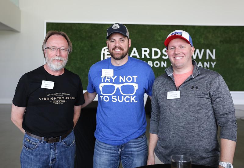Gary Voss, Matt Self and Matt West.