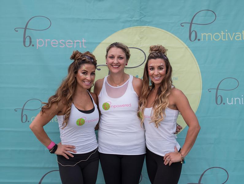 Rashna Carmicle, Caroline Johnson, founder of Twisted Pink and Stephanie Bristow.