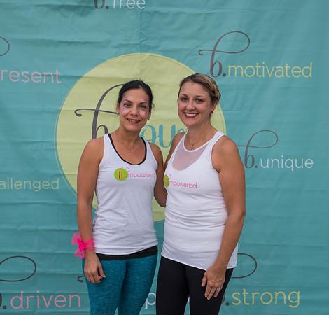 Dr. Yoannis Imbert-Fernandez and Caroline Johnson, founder of Twisted Pink.
