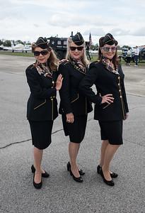 The Ladies of Liberty: Jeanette Kays, Wanda Martin and Nancy Cheak.