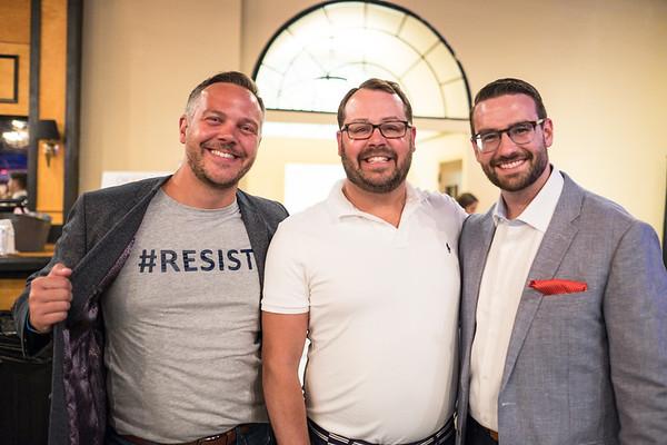 Sean Riley, Kevin Gibson and Adam Neff.