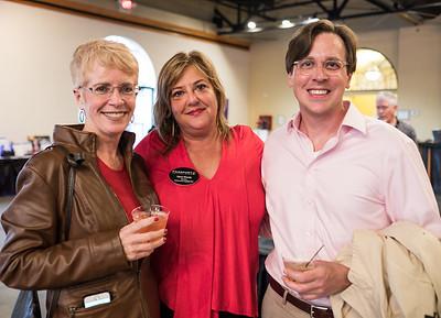 Tara Bassett, Dana Moody and Chad Bruce.