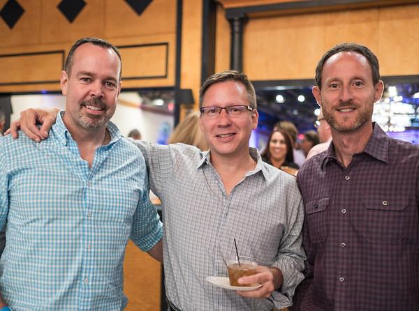 Jon Murphy, Greg Bielefeld and Rick Silen.