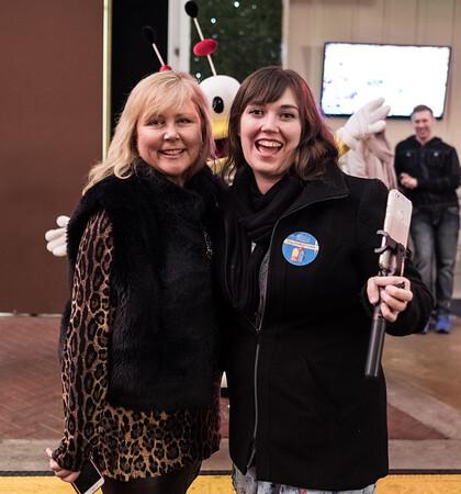 Jeanne Hilt and Jael Harrington with Design Wide Louisville.