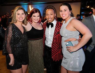 Mckenzie Moore, Megan Huff, Sheldon Burton and Ashli Mayes.