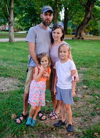 Rob, Fiona, Stephanie and Anna Sofia Powers.