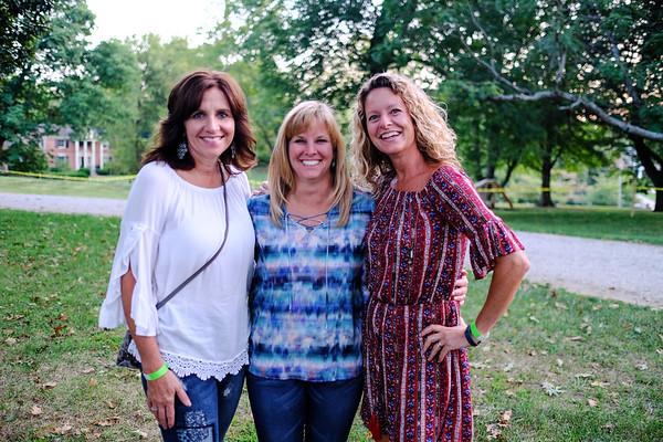 Jackie DeRudder, Susan Nichols and Karen Abell.