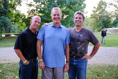 Jim Nichols, Mike Abell and Trent DeRudder.