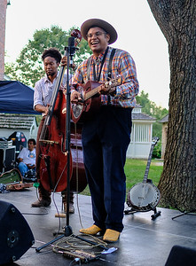Bryan Farrow and Dom Flemons.