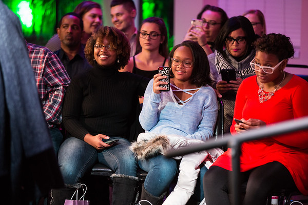 Teah Williams-Hampton, Mireya Hampton and Lei'Asia Porter.