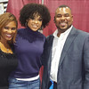 Kerrie Pabon, Demetria McKinney and Casuel Pitts attend 15th Annual Florida Black Expo - December 17, 2016 in Jacksonville, Florida