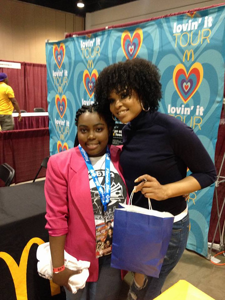 Natasha Baker and Demetria McKinney attend 15th Annual Florida Black Expo - December 17, 2016 in Jacksonville, Florida