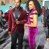 Rob Riley and Demetria McKinney attend the 2017 Soul Train Awards, presented by BET, at the Orleans Arena on November 5, 2017 in Las Vegas, Nevada.