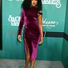 Demetria McKinney attend the 2017 Soul Train Awards, presented by BET, at the Orleans Arena on November 5, 2017 in Las Vegas, Nevada.