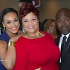 "Demetria McKinney, Tamela Mann & David Mann attends the ""21st Annual Trumpet Awards"" on January 26, 2013"