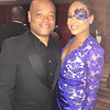 Ted McCloud and Demetria McKinney attend the 32nd Annual Mayor's Masked Ball - December 19, 2015