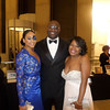 Demetria McKinney, Roger Bobb and Autumn Monroe attend the 32nd Annual Mayor's Masked Ball - December 19, 2015