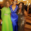 Genae, Demetria McKinney Tammie Reed attend the 32nd Annual Mayor's Masked Ball - December 19, 2015